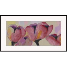 Lavish Watercolor Tulips
