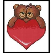 Valentine Bears - #11021
