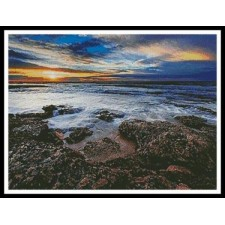 Seascape at Miramar, Argentina - #11033