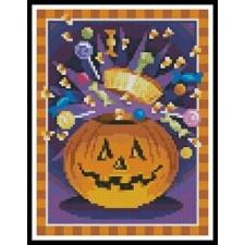 Mini Jack O' Lantern - #11045