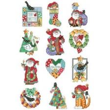 Country Folk Ornaments