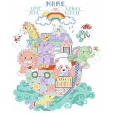Noah's Ark Birth Announcement
