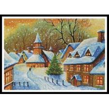 Snowy Village - #11054-INT