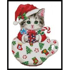 Christmas Kitty Cup - #11059-KH