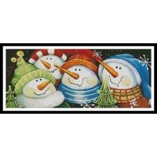 Merry Folks Greeting You - #11061-PFLD