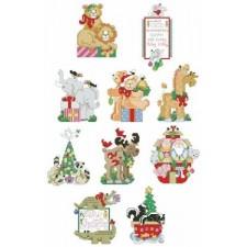 Noah's Friends Ornaments