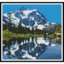 Mini Snow Capped Mountains - #11074