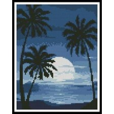 Mini Moonlight with Palm Trees - #11077
