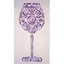 Tribal Wine Glass