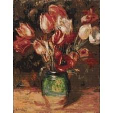 Renoir's Tulips