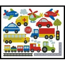 Transport Motifs - #11138