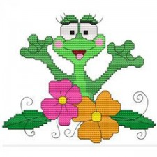 Funny Frog Flowers