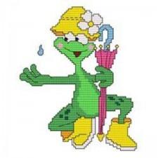 Funny Frog Rain
