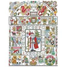 Folk Art Christmas Sampler