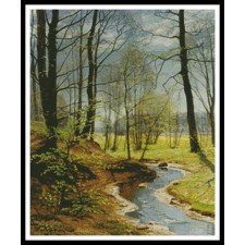 A Stream in the Woods - #11152