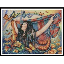 Butterfly Blanket - #11158-PFLD