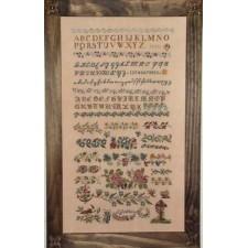 J Gebhard 1841 Sampler
