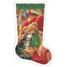 Christmas Cuddles Stocking