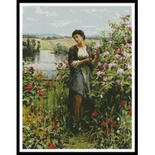 Julia among the Roses - #11204