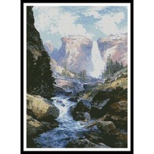 Waterfall in Yosemite - #11212