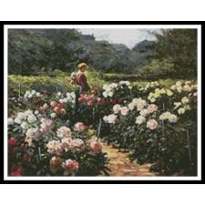 Woman in a Garden - #11227