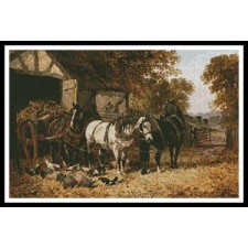The Hay Cart - #11237