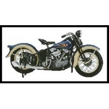 1936 Harley Davidson Knucklehead - #11252