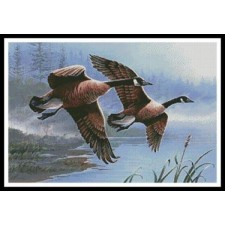 Geese on the Wing - #11263-PFLD