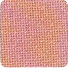 Jobelan borduurstof 8dr/cm zalm
