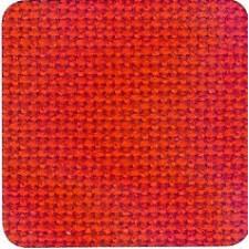 Jobelan borduurstof 8dr/cm rood