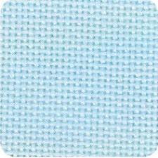 Jobelan borduurstof linnenstructuur 11dr/cm lichtblauw