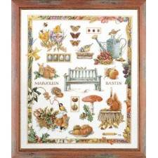 Counted cross stitch kit Four seasons