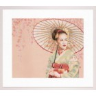 (OP=OP) Counted cross stitch kit Geisha