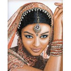 Counted cross stitch kit Indian model