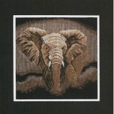 (OP=OP) Counted cross stitch kit Elephant