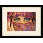 Counted cross stitch kit Veiled woman