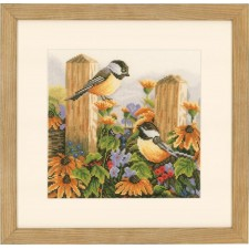 (OP=OP) Counted cross stitch kit Chatting birds