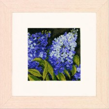 (OP=OP) Counted cross stitch kit Lilac