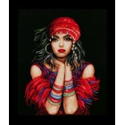 Counted cross stitch kit Gypsy girl