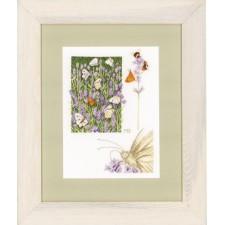 (OP=OP) Counted cross stitch kit Lavender field