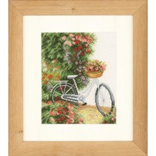 (OP=OP) Counted cross stitch kit My bicycle