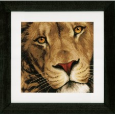 Counted cross stitch kit King of animals