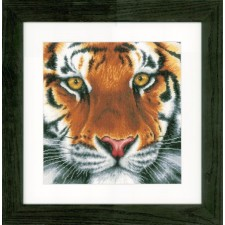 Counted cross stitch kit Tiger