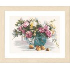 Counted cross stitch kit Flowers