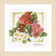 Counted cross stitch kit Spring