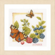 Counted cross stitch kit Summer