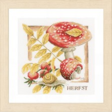 Counted cross stitch kit Fall
