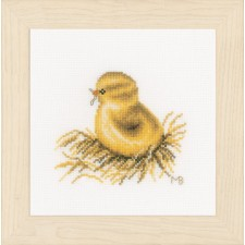 Counted cross stitch kit Little chick
