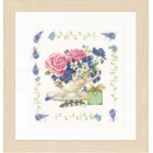 Counted cross stitch kit Bouquet of roses