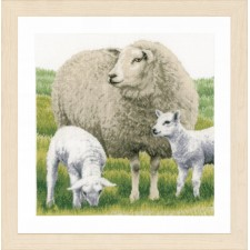 Counted cross stitch kit Sheep